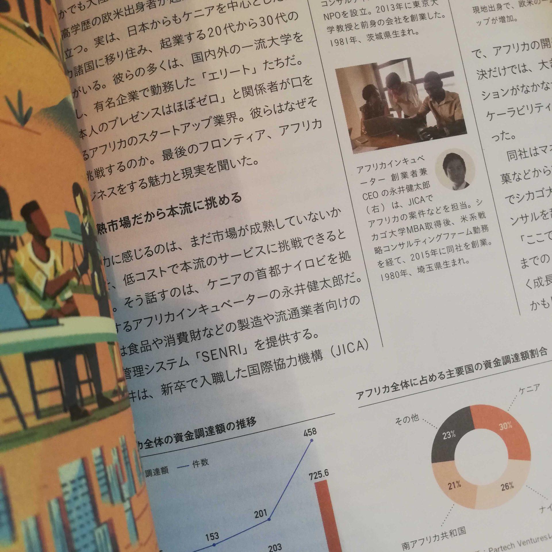 2019年8月:Forbes Japan 10月号に掲載されました